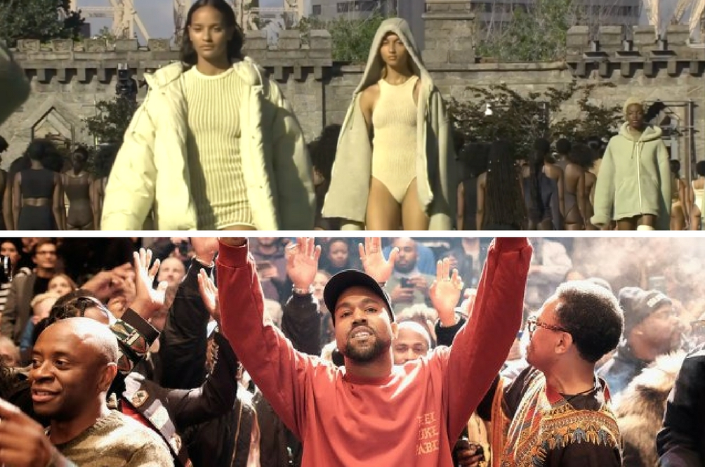 Everything That Went Down At Kanye West's  Fashion Show